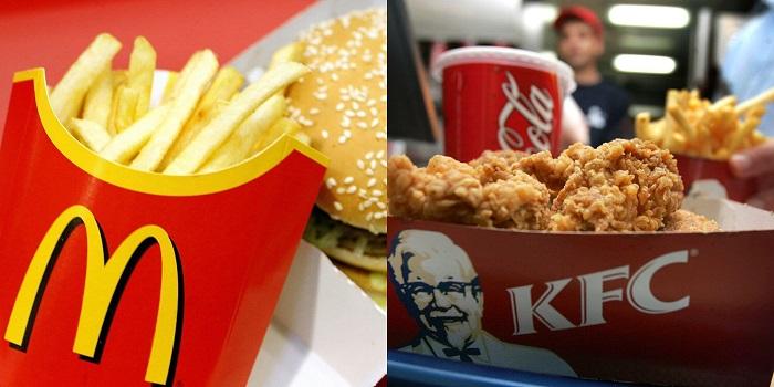 Cara Pesan Makanan di KFC, Pizza Hut, McDonald
